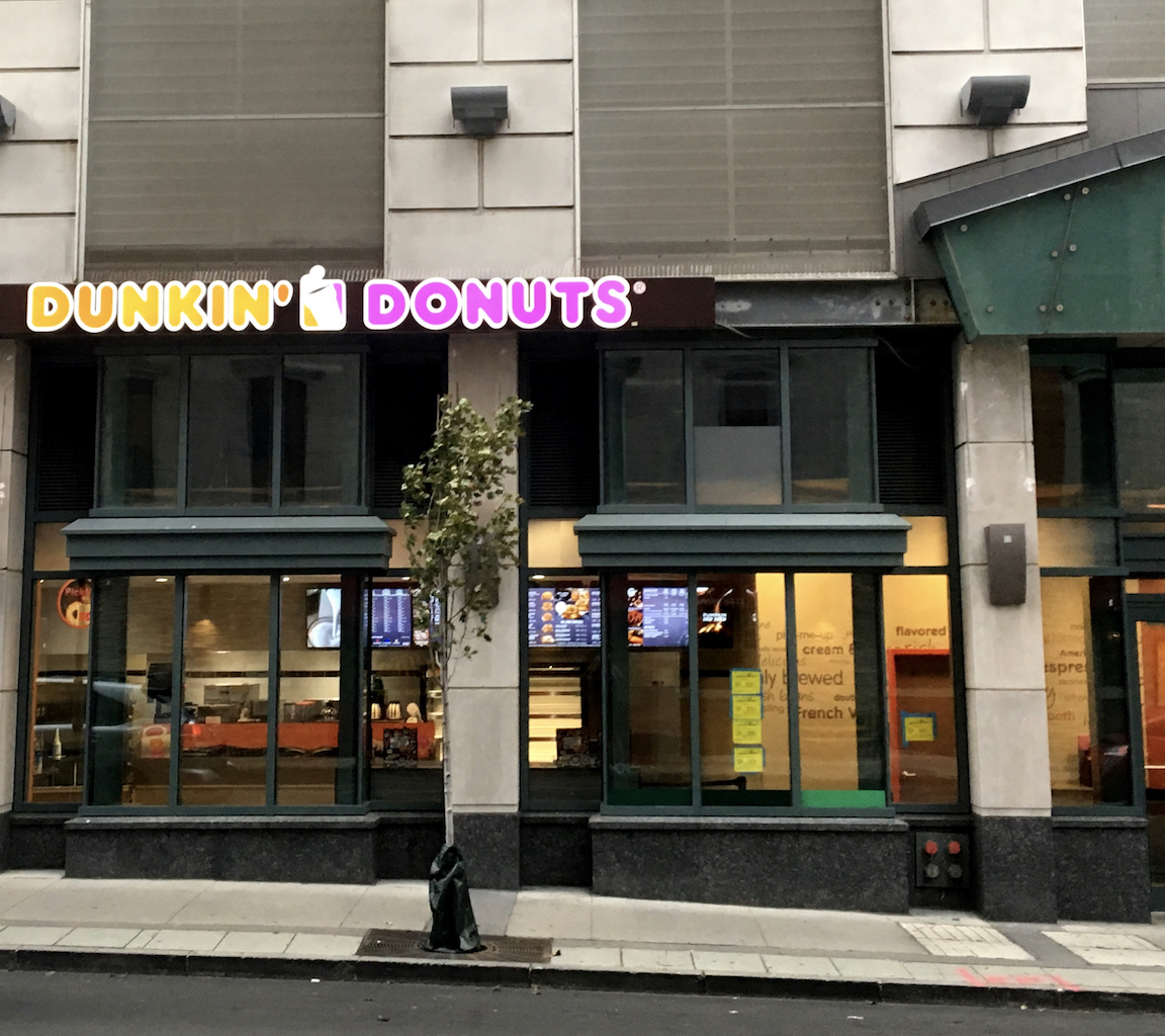 Dunkin Donuts Opening At 105 Greene Street This Wednesday