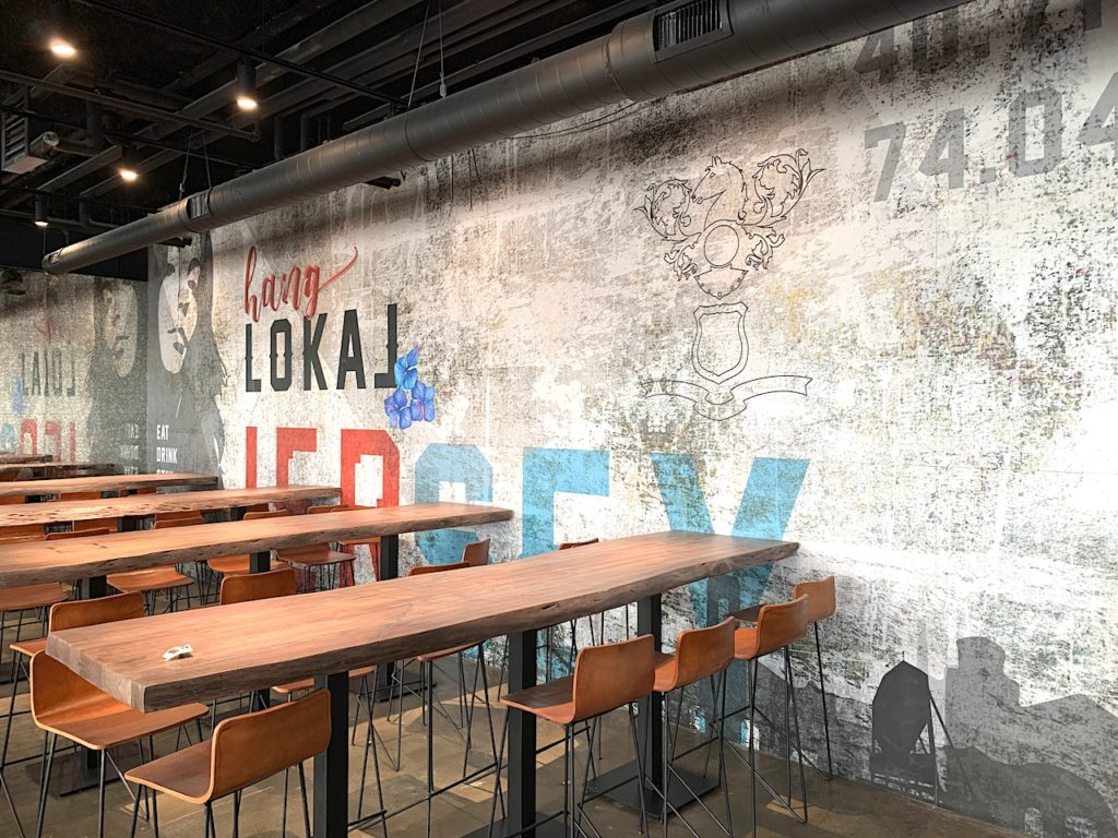 New Waterfront Restaurant Lokal Now Open Jersey City Upfront
